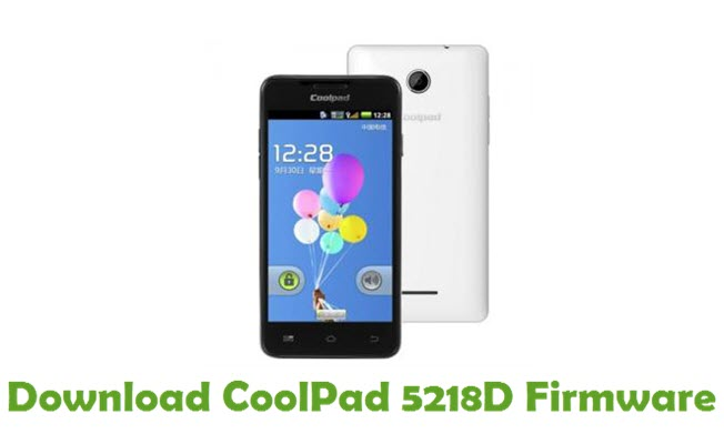 Download CoolPad 5218D Firmware