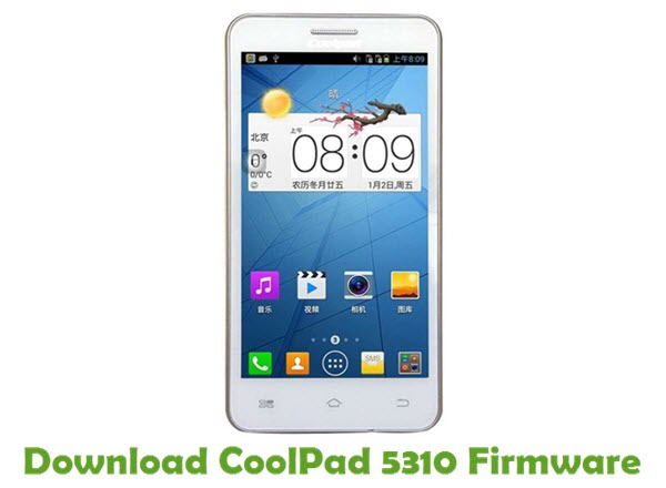 Download CoolPad 5310 Firmware