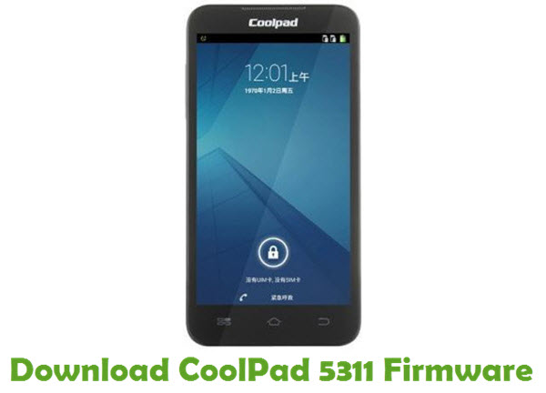 Download CoolPad 5311 Firmware