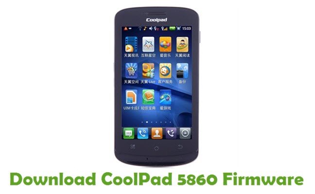 Download CoolPad 5860 Firmware