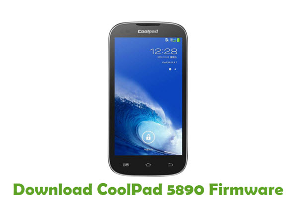 Download CoolPad 5890 Firmware