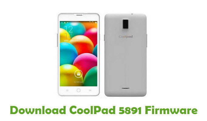 Download CoolPad 5891 Firmware