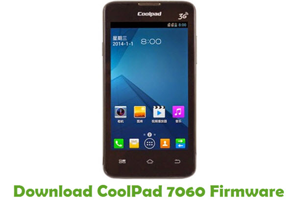 Download CoolPad 7060 Firmware