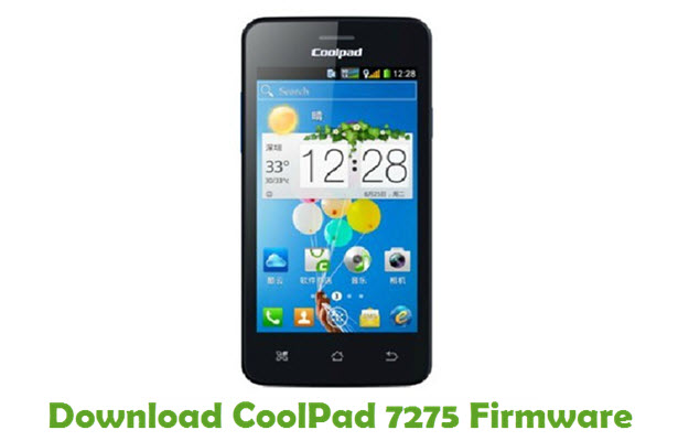 Download CoolPad 7275 Firmware