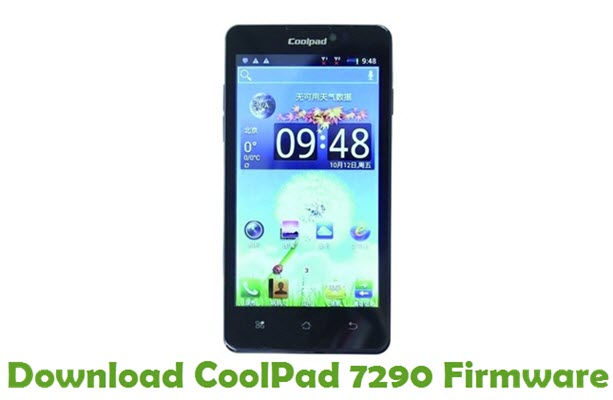Download CoolPad 7290 Firmware
