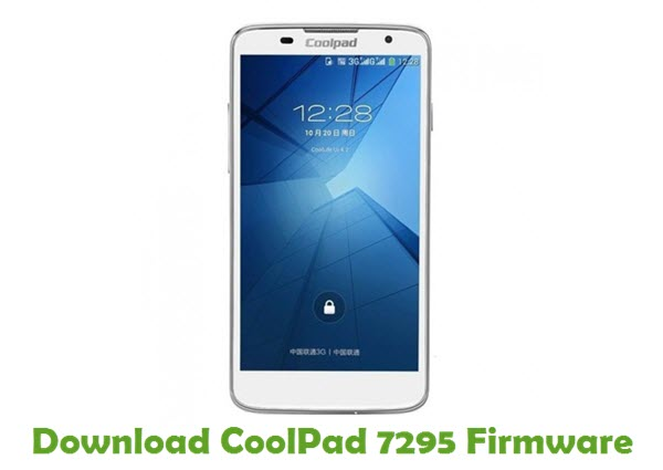Download CoolPad 7295 Firmware
