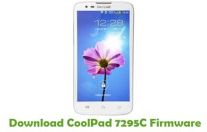 Download CoolPad 7295C Firmware - Android smartphone Stock ROM
