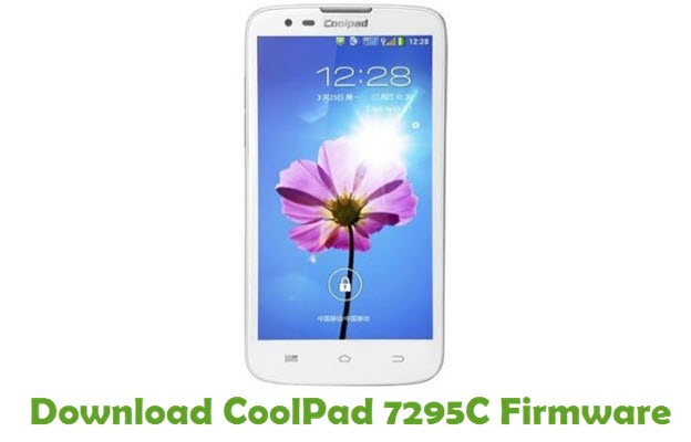 Download CoolPad 7295C Firmware