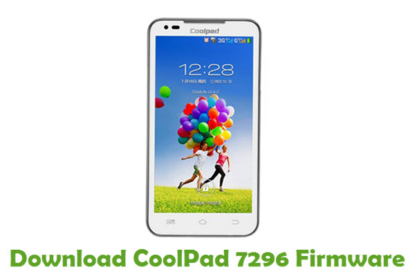 Download CoolPad 7296 Firmware