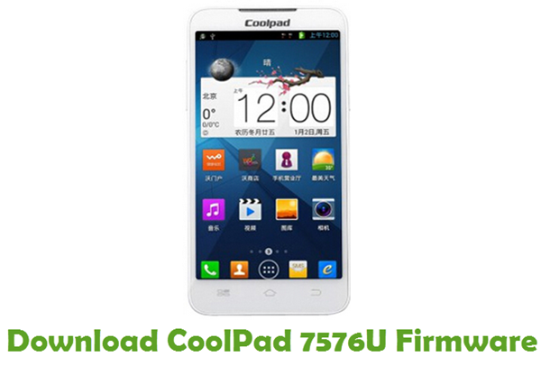 Download CoolPad 7576U Firmware