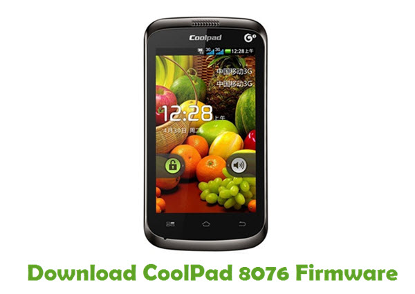 Download CoolPad 8076 Firmware