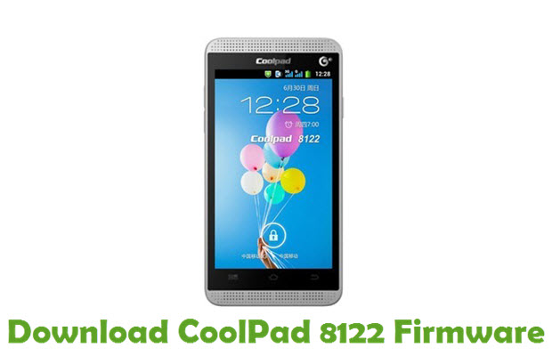 Download CoolPad 8122 Firmware