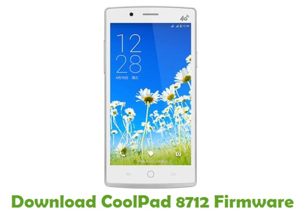 Download CoolPad 8712 Firmware