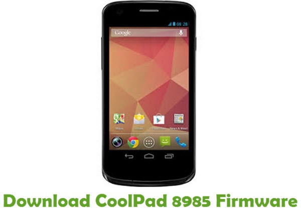 Download CoolPad 8985 Firmware