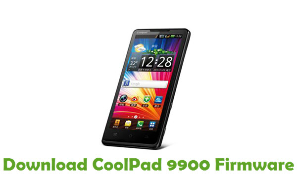 Download CoolPad 9900 Firmware