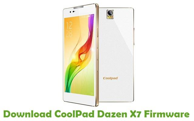 Download CoolPad Dazen X7 Firmware