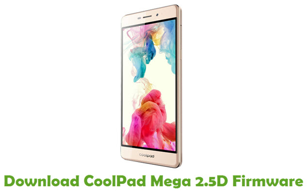 Download CoolPad Mega 2.5D Firmware