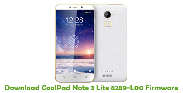 Download CoolPad Note 3 Lite 8289-L00 Firmware