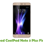 CoolPad Note 3 Plus Firmware