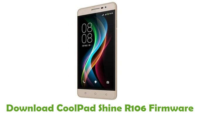 Download CoolPad Shine R106 Firmware