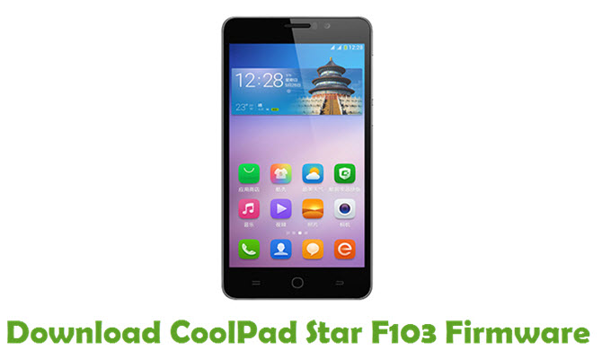 Download CoolPad Star F103 Firmware