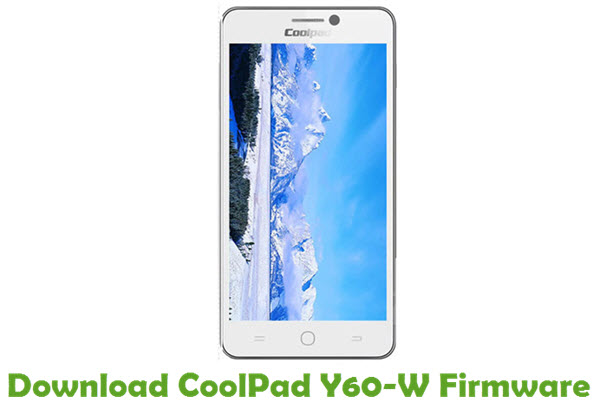 Download CoolPad Y60-W Firmware