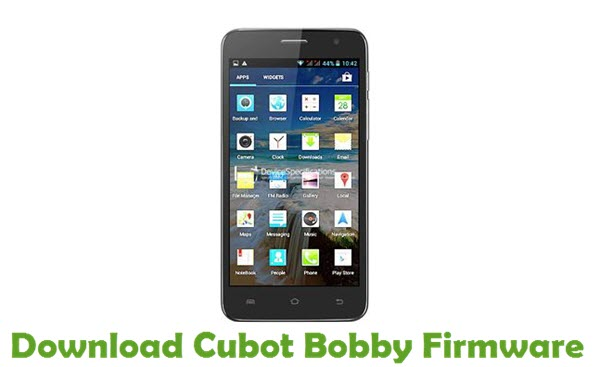 Download Cubot Bobby Firmware