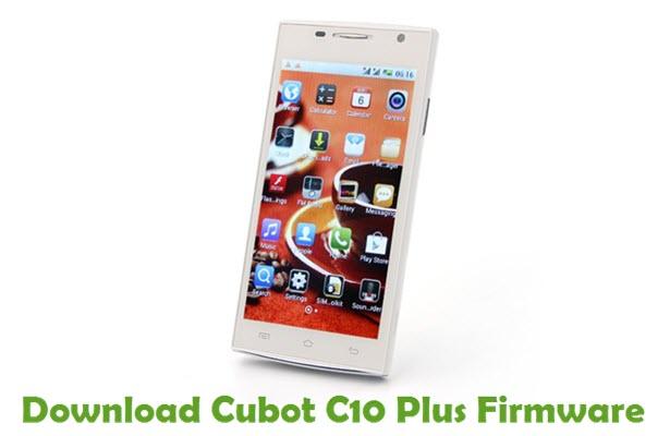 Download Cubot C10 Plus Firmware