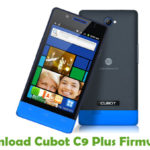 Cubot C9 Plus Firmware