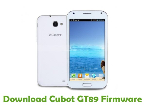 Download Cubot GT89 Firmware