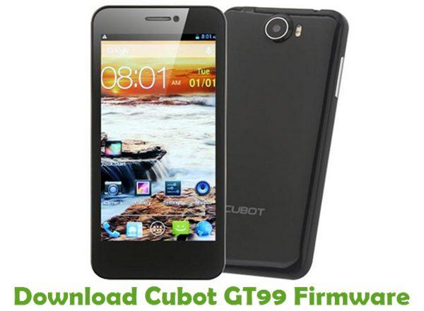 Download Cubot GT99 Firmware