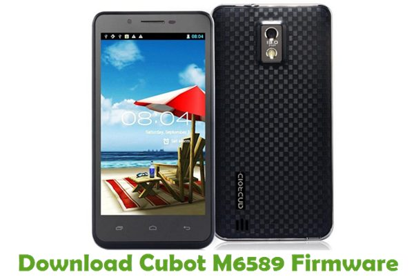Download Cubot M6589 Firmware