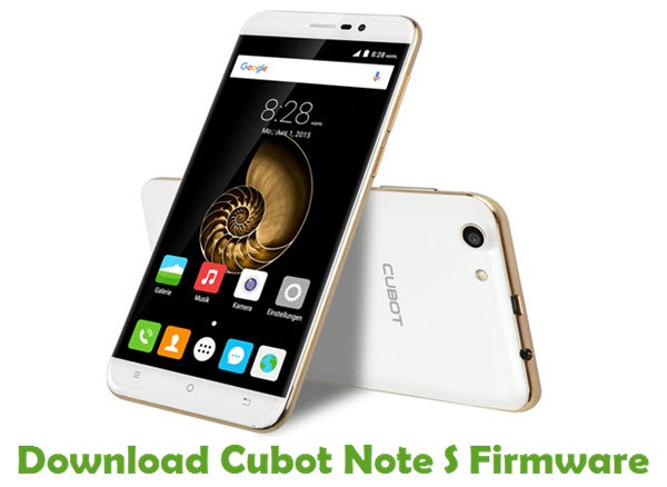 Download Cubot Note S Firmware