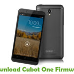 Cubot One Firmware