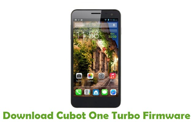 Download Cubot One Turbo Firmware