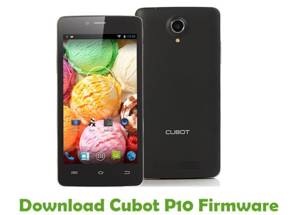 Download Cubot P10 Firmware