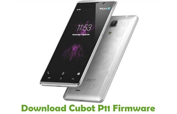 Download Cubot P11 Firmware