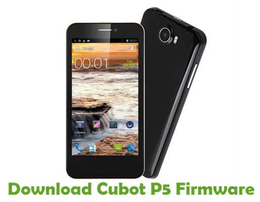 Download Cubot P5 Firmware