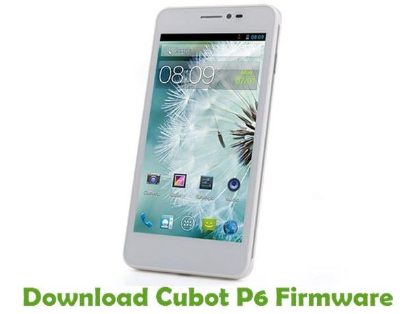 Download Cubot P6 Firmware