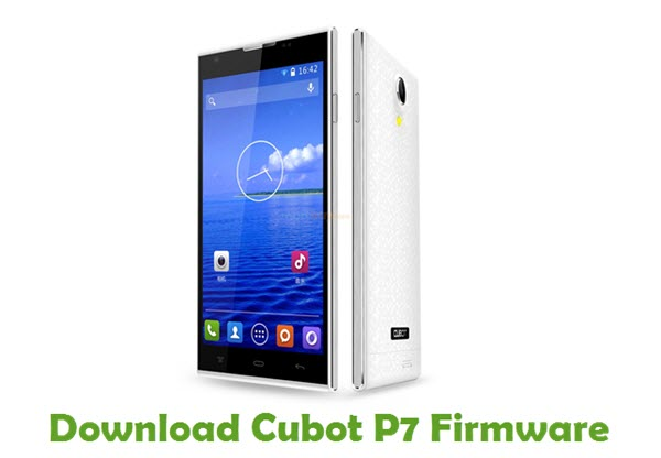 Download Cubot P7 Firmware