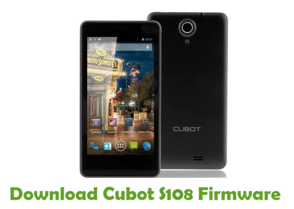 Download Cubot S108 Firmware
