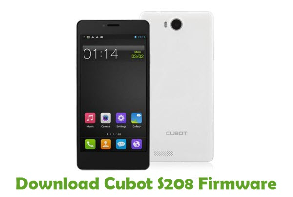 Download Cubot S208 Firmware