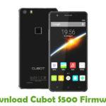 Cubot S500 Firmware