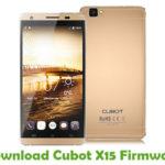 Cubot X15 Firmware