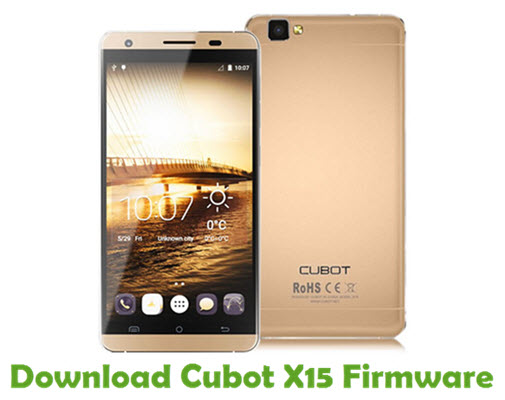 Download Cubot X15 Firmware