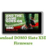 DOMO Slate X3D SE Firmware