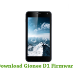 Gionee D1 Firmware