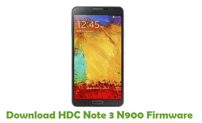 Download HDC Note 3 N900 Firmware
