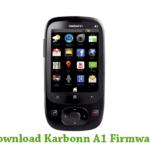 Karbonn A1 Firmware