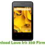 Lava Iris 350 Firmware